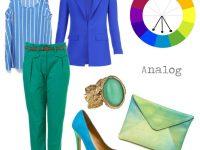 kombinacia farieb oblecenia