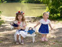 letne fotky deti v prirode