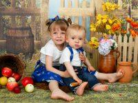 detske fotky z atelieru