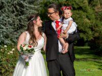 rodina v den svadby